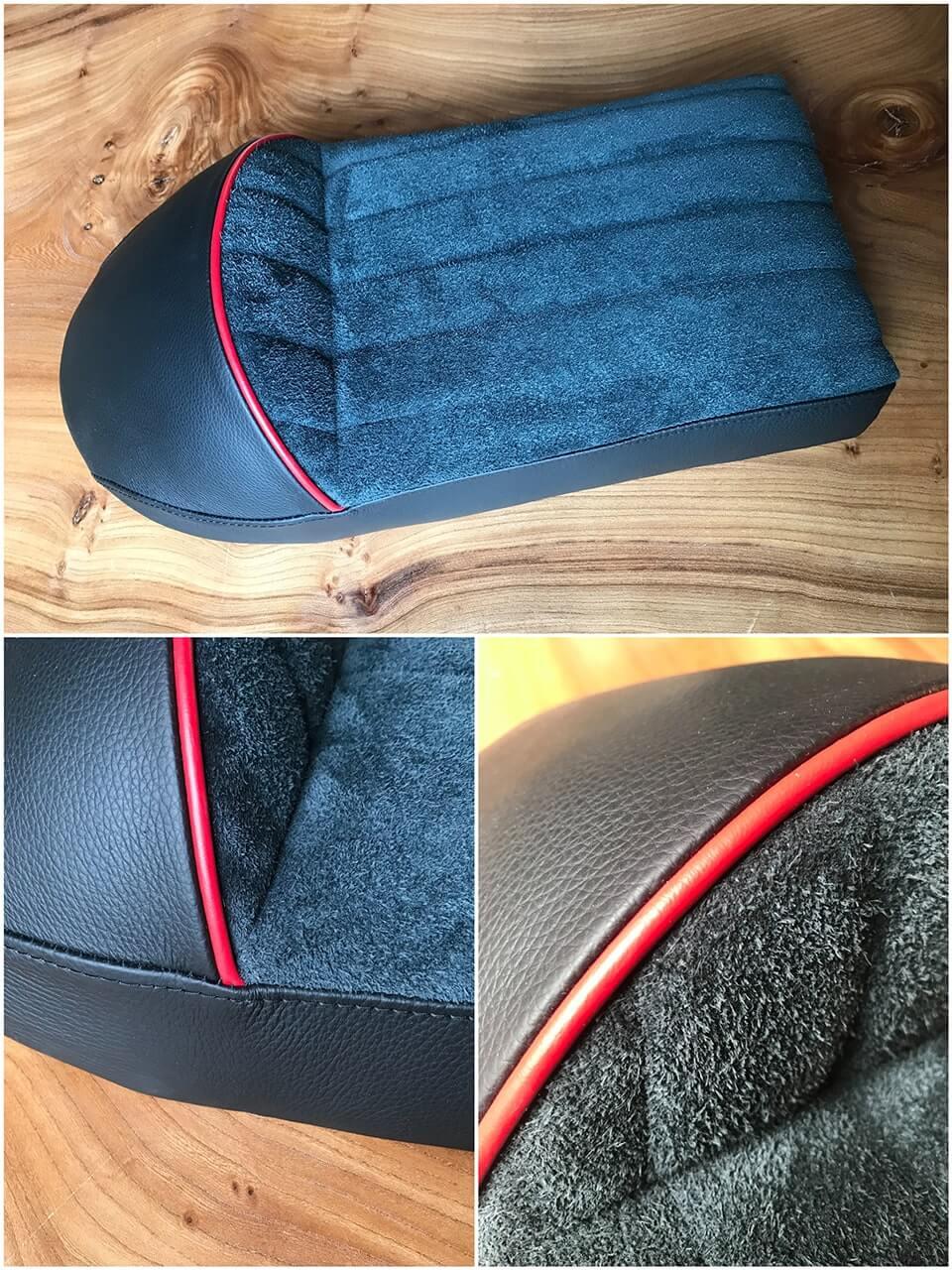 Réalisation d'un siège en cuir sur mesure